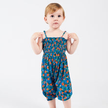 Load image into Gallery viewer, BOBO CHOSES All Over Oranges Smocked Overall by BOBO CHOSES - Mini Pop Style