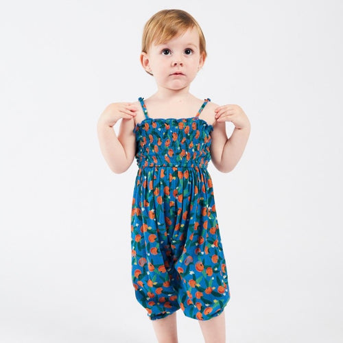 BOBO CHOSES All Over Oranges Smocked Overall by BOBO CHOSES - Mini Pop Style