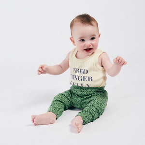 BOBO CHOSES All Over Leopards Green Leggings by BOBO CHOSES - Mini Pop Style