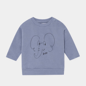 BOBO CHOSES Elephant Sweatshirt