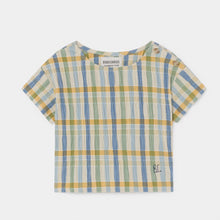 Load image into Gallery viewer, BOBO CHOSES Checker Blouse