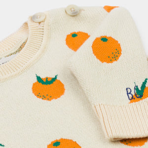 BOBO CHOSES Oranges Knitted Jumper