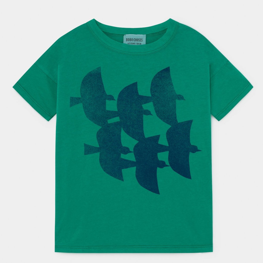 BOBO CHOSES Flying Birds T-Shirt by BOBO CHOSES - Mini Pop Style