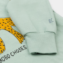 Load image into Gallery viewer, BOBO CHOSES Leopard Sweatshirt