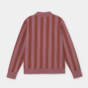BOBO CHOSES Bobo Striped Zipped Sweatshirt by BOBO CHOSES - Mini Pop Style