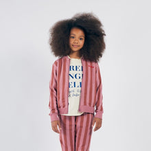 Load image into Gallery viewer, BOBO CHOSES Bobo Striped Zipped Sweatshirt by BOBO CHOSES - Mini Pop Style