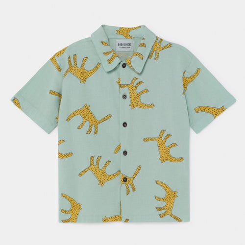 BOBO CHOSES Leopard Shirt