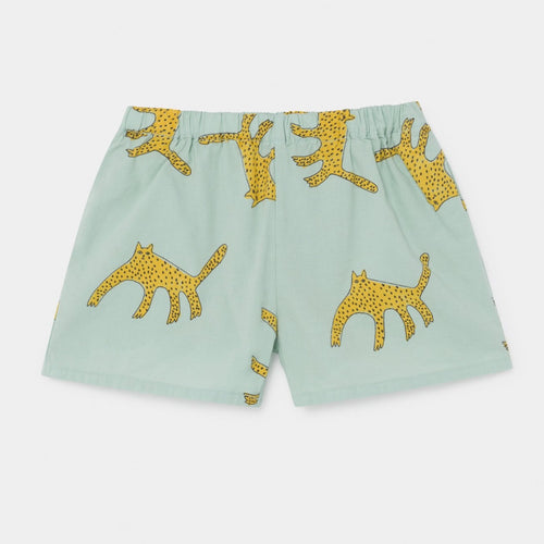 BOBO CHOSES Leopard Woven Shorts by BOBO CHOSES - Mini Pop Style