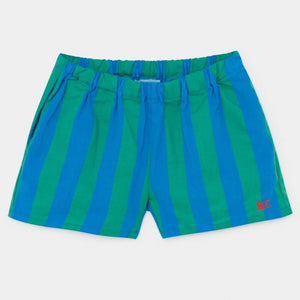 BOBO CHOSES Striped Woven Shorts