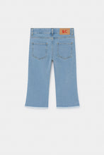 Load image into Gallery viewer, BOBO CHOSES Multicolor Bobo Flared Denim Pants by BOBO CHOSES - Mini Pop Style