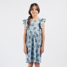 Load image into Gallery viewer, BOBO CHOSES All Over Pineapple Jersey Ruffle Dress by BOBO CHOSES - Mini Pop Style