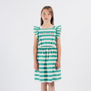 BOBO CHOSES Chachacha Kiss Woven Ruffle Dress by BOBO CHOSES - Mini Pop Style