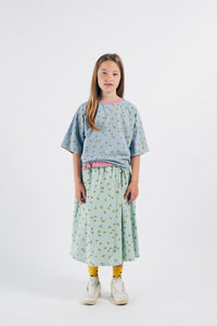BOBO CHOSES All Over Daisy Wrap Midi Skirt by BOBO CHOSES - Mini Pop Style