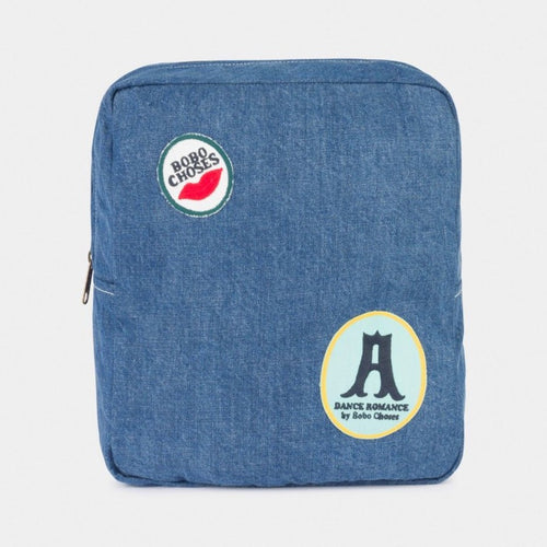 BOBO CHOSES Patches School Bag - Mini Pop Style