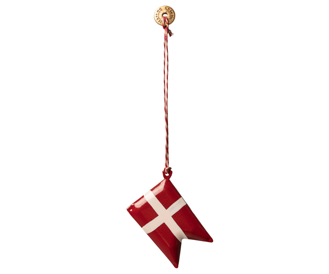 MAILEG Ornament Danish Flag, Metal by MAILEG - Mini Pop Style