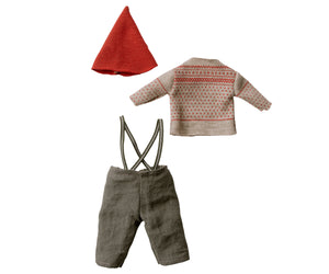 MAILEG Christmas Clothes for Medium Mouse // Boy by MAILEG - Mini Pop Style