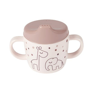 Done By Deer 2-handle Spout Cup Dreamy Dots // Powder