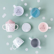 Load image into Gallery viewer, Done By Deer 2-handle Spout Cup Dreamy Dots // Powder