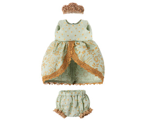 MAILEG Micro & Mouse Princess Dress // Mint by MAILEG - Mini Pop Style