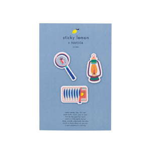 Sticky Lemon  Novesta Patches Sardines - Lantern - Magnifier by Sticky Lemon - Mini Pop Style