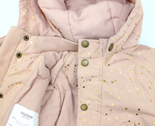 Load image into Gallery viewer, MarMar Ode Tech Outerwear Jacket // Dusty Rose Starflake