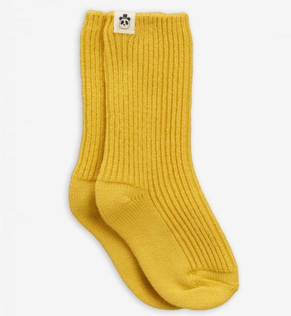 Mini Rodini Wool Socks // Yellow by Mini Rodini - Mini Pop Style