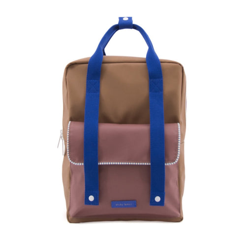 Sticky Lemon Backpack Deluxe Large // Sugar Brown - Mini Pop Style