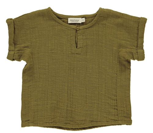 MarMar Tomba T-shirt  // Dark Olive by MarMar - Mini Pop Style