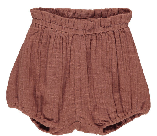 MarMar Pava Shorts // Dusty Brick - Mini Pop Style