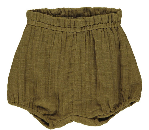 MarMar Pava Shorts // Dark Olive - Mini Pop Style