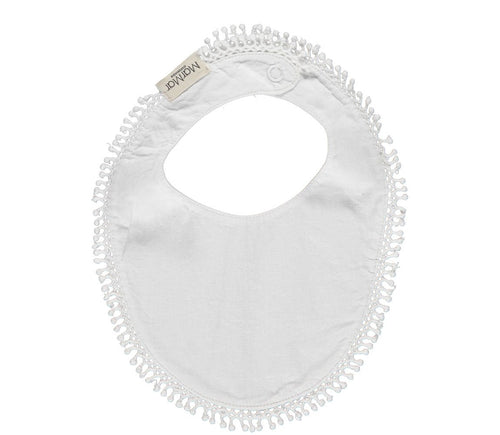 MarMar Dry Bib // White by MarMar - Mini Pop Style