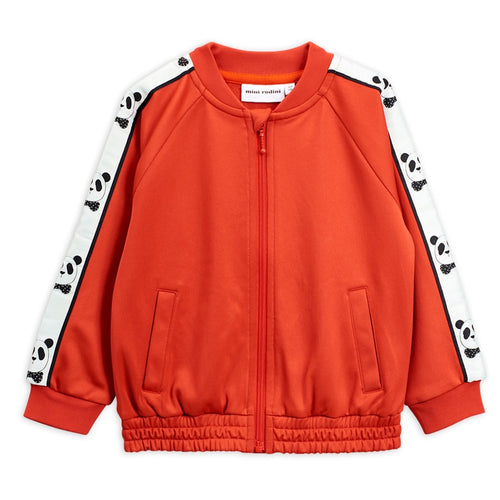 Mini Rodini Panda Track Jacket // Red by Mini Rodini - Mini Pop Style
