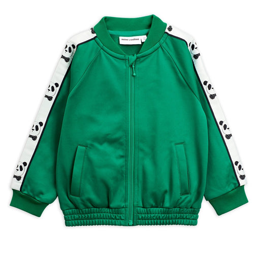 Mini Rodini Panda Track Jacket // Green by Mini Rodini - Mini Pop Style