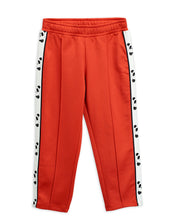 Load image into Gallery viewer, Mini Rodini Panda Track Pants // Red