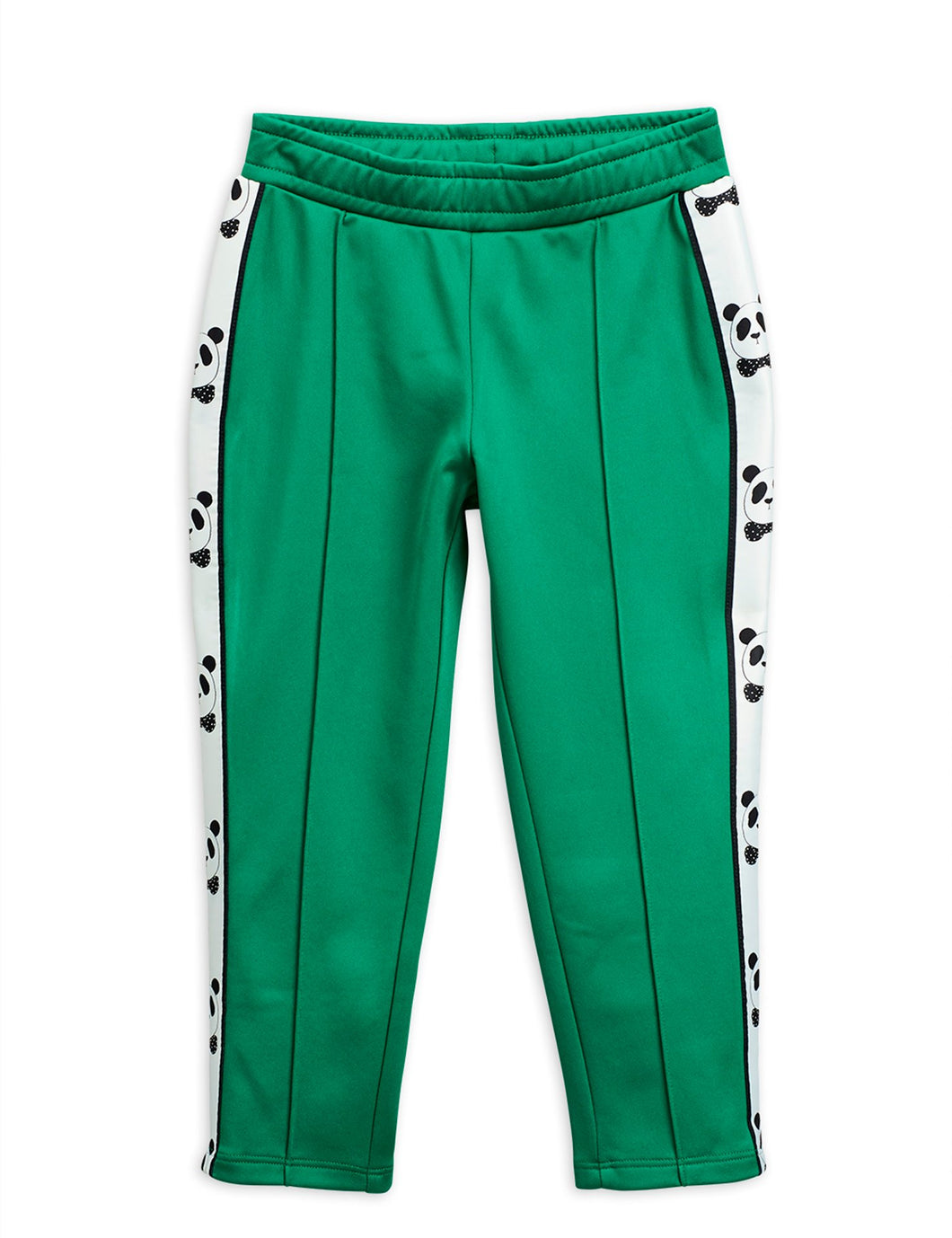 Mini Rodini Panda Track Pants // Green