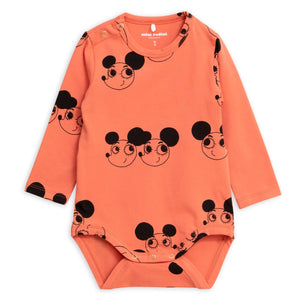 Mini Rodini Ritzratz Long Sleeve Body by Mini Rodini - Mini Pop Style