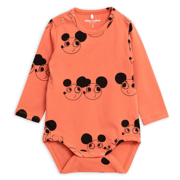 Mini Rodini Ritzratz Long Sleeve Body
