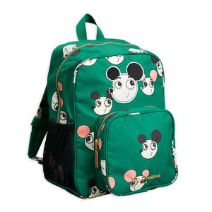 Mini Rodini Ritzratz School Bag // Green