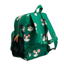 Load image into Gallery viewer, Mini Rodini Ritzratz School Bag // Green