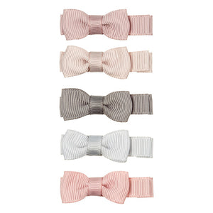 Mimi & Lula Martha Bow Salon Clips // Neutral Dusky Pink Pack by Mimi & Lula - Mini Pop Style