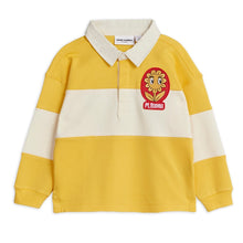 Load image into Gallery viewer, Mini Rodini Rugby Shirt // Yellow by Mini Rodini - Mini Pop Style