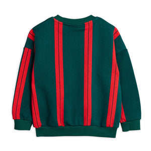 Mini Rodini Stripe Sweatshirt // Green by Mini Rodini - Mini Pop Style