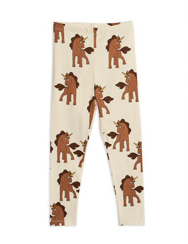 Mini Rodini Unicorns Leggings // Off-White by Mini Rodini - Mini Pop Style