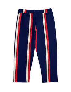 Mini Rodini Stripe Sweatpants // Blue by Mini Rodini - Mini Pop Style