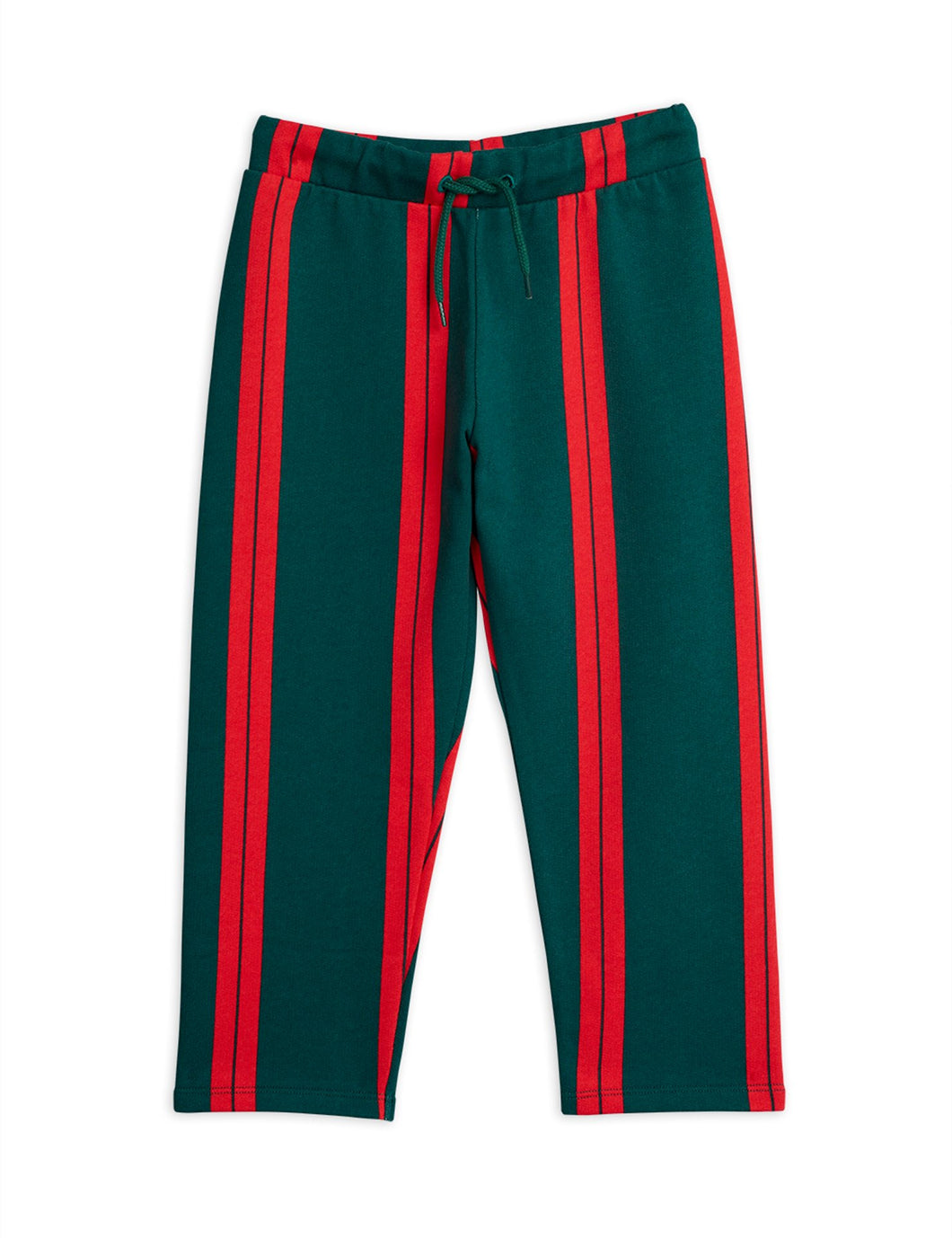 Mini Rodini Stripe Sweatpants // Green