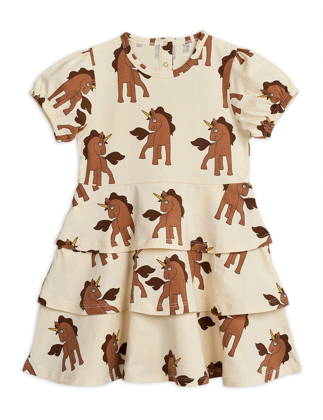 Mini Rodini Unicorn Dress // Off-White by Mini Rodini - Mini Pop Style