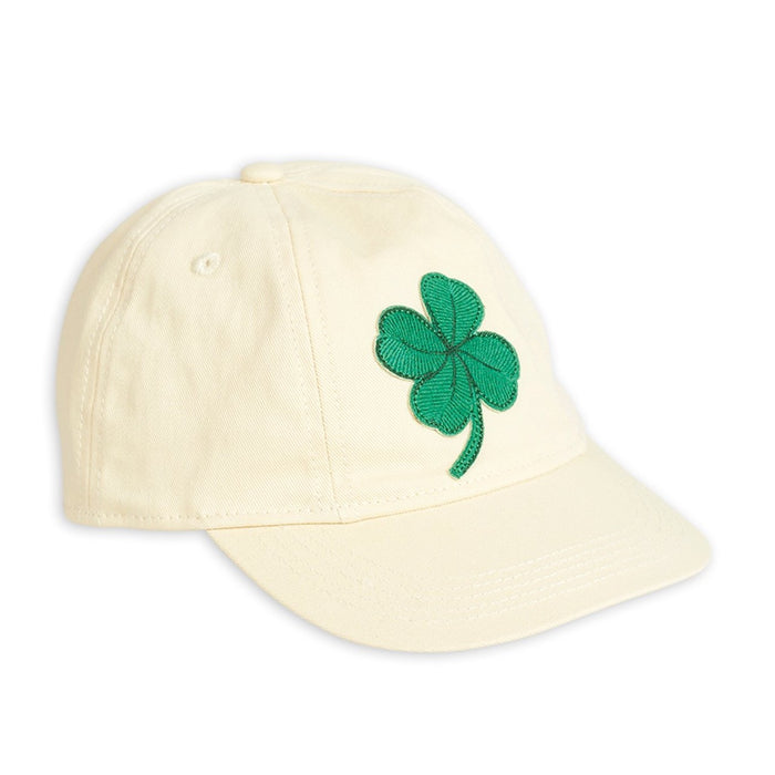 Mini Rodini Clover Cap // Offwhite by Mini Rodini - Mini Pop Style