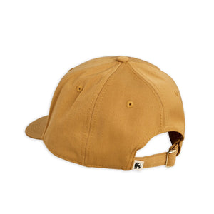 Mini Rodini Cat Badge Trucker Cap // Beige by Mini Rodini - Mini Pop Style