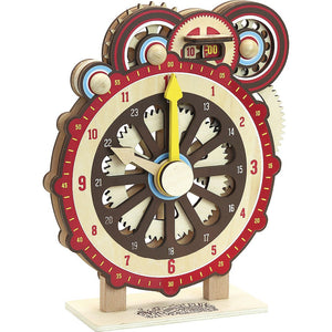 VILAC Clock For Learning by Vilac - Mini Pop Style
