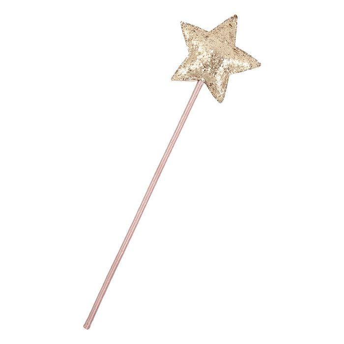 Mimi & Lula Sparkle Glitter Star Wand // Rose Fairy by Mimi & Lula - Mini Pop Style